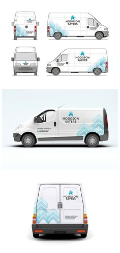 Hodgson Sayers - Van Livery. #couragecreative #graphicdesign #livery