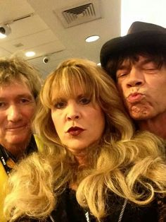 Rod, Stevie and Mick muggin' for the camera.....(Just how cool is this?)................awesome!