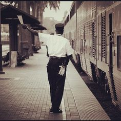 Our Amtrak ambassadors strive to make your journey enjoyable! Thanks @frankshunkan for taking this creative shot of one of our valued employees.