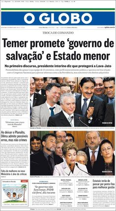 #20160513 #LATINOAMERICA #LatinAmerica #LatinoamérciaPORTADASdePRENSAdeHOY Viernes 13 MAY 2016 http://en.kiosko.net/iba/2016-05-13/ <+> #BRASIL #RIOdeJANEIRO #OGLOBO20160513 http://en.kiosko.net/br/2016-05-13/np/br_oglobo.html