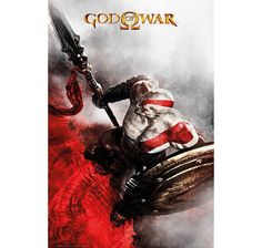 God of War Poster Kratos Speer & Schild. Hier bei www.closeup.de