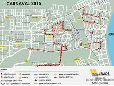 Semob muda trânsito em vias de João Pessoa para desfile do 'Muriçocas' +http://brml.co/17hGirL