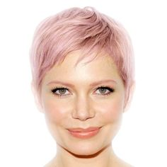 Very Short Hairstyles For Round Faces 2014