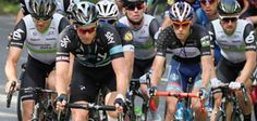 •Rob Sargent captured this image of Ian Stannard leading the pelaton at Beechenhurst. Tour de France winner Mark Cavendish is on his shoulder in the white top.