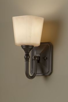 Concord One Light Wall Sconce in Oil Rubbed Bronze $62 Wayfair
