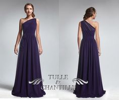 Hey, I found this really awesome Etsy listing at https://www.etsy.com/listing/180033188/purple-sheer-one-shoulder-long