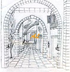 arcos en perspectiva [1600×1200] Nativity Stable, Zen Doodle, Mixed Media Canvas, Stables, Verona, Anime, Crafts, Travel, Design