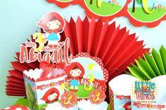 Kit Decorativo Caperucita roja Party
