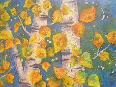 Martha Kisling Art With Heart : Breckenridge Batik - ASPEN LEAVES