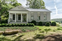 farmhouse exterior by Blansfield Builders, Inc.