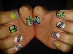HIPPY!! - Nail Art