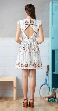 Vestido Ginástica de Trampolim