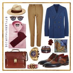 """""""Just Dapper"""" by mauricee-brewer on Polyvore featuring Lanvin, Tod's, River Island, Tommy Hilfiger, Louise & Zaid, Invicta, Oliver Spencer, ALDO, Barbisio and L.A.P.A."""