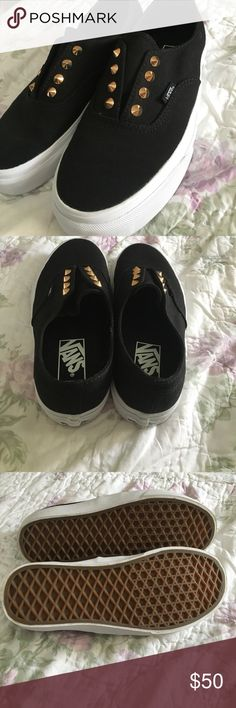 NEVER WORN Studded Vans Vans shoes. NEVER WORN 100%. Vans Shoes Sneakers