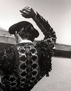 José Manuel Hernández Zamorano, Salamanca, Spain by Ruven Afanador on artnet Black White Photos, Black And White Photography, Matador Costume, Pattern Texture, Photoshop, Strike A Pose, Belle Photo, Monochrome, Art Photography