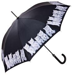 Kitsch Cat Umbrellas by Von Lilienfeld