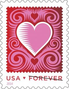 2014 First Look: Cut Paper Heart | USPS Stamps