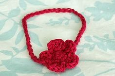 06029993a72 Crochet baby headband Crochet Flower Headbands