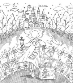 Romantic Country Coloring Book --> For the most popular adult coloring books and supplies including watercolors, colored pencils, gel pens and drawing markers, visit our website at http://ColoringToolkit.com. Color... Relax... Chill.