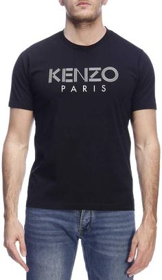 Kenzo T-shirt T-shirt Men Paris T Shirt, Shirt Men, Luxury Branding, Badge, Law, November, Silhouette, Drawings, Moda Masculina