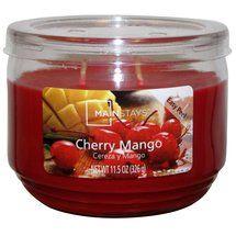 Walmart: Mainstays 11.5 oz Candle, Cherry Mango <3