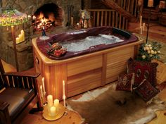 indoor hot tubs | ... Hot Tubs – The Excellent Indoor or Outdoor Furniture: Classic Hot