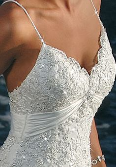 Wedding bling! Maggie Sottero's Destination Weddings collection. SD5204. SOO PRETTY!