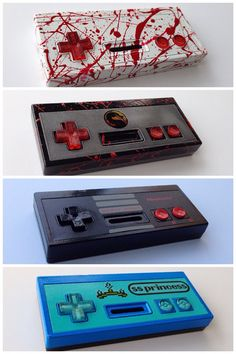 Custom Original Nintendo NES controller for Retro Gaming LSDJ Nintendo Room, Nintendo Controller, Super Nintendo, Old Game Consoles, Cool Raspberry Pi Projects, Funny Kermit Memes, Nes Console, Custom Consoles, Original Nintendo
