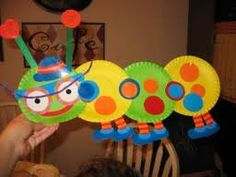 I - Insect. bug craft