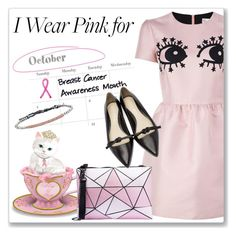 """I Wear Pink for...all women"" by andrejae ❤ liked on Polyvore featuring RED Valentino, 3.1 Phillip Lim and IWearPinkFor"