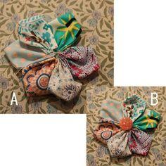 端切れお花のヘアゴム~その3~の作り方 手順|3|その他|ファッション小物|ハンドメイド、手作り作品の作り方ならアトリエ Gift Wrapping, Gifts, Handmade, Ideas, Fabric Flowers, Japanese Language, Gift Wrapping Paper, Presents, Hand Made