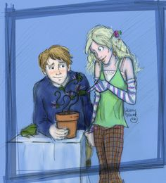 Neville and Luna by *Hillary-CW on deviantART