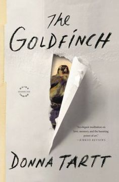 The Goldfinch by Donna Tartt. You won't be able to put it down or stop thinking about it.