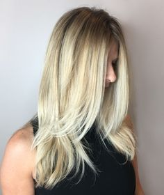 Bespoke Rooty Blonde by Jackie #bespokebeautybar #wexford #balayage #cranberry #haircolor #mars #hairsalon #pittsburgh #haircut #gibsonia #hairpainting #sewickley #hair #allisonpark #salon #zelienople #color #warrendale  #wexfordhaircolor #wexfordbalayage #wexfordhairsalon #pittsburghhaircolor #pittsburghbalayage #pittsburghhairsalon #hairbrained #behindthechair #americansalon #modernsalon