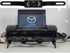 For (2003 2004 2005 2006 2007) Mazda 6 Indash DVD Navigation System Multimedia System AV Receiver + 7 inch Digital Flip Up Touchscreen / DVD Playback / USB SD (Factory Fit,Free Map) WITH REAR VIEW CAMERA - http://www.productsforautomotive.com/for-2003-2004-2005-2006-2007-mazda-6-indash-dvd-navigation-system-multimedia-system-av-receiver-7-inch-digital-flip-up-touchscreen-dvd-playback-usb-sd-factory-fitfree-map-with-rear-view-cam/