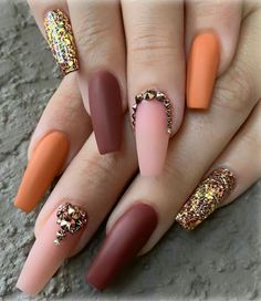 In seek out some nail designs and some ideas for your nails? Here's our set of must-try coffin acrylic nails for modern women. Nail Polish Pens, Nail Polish Designs, Acrylic Nail Designs, Nail Art Designs, Nails Design, Nail Pen, Pink Polish, Salon Design, Fall Acrylic Nails