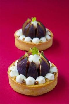 Small Desserts, Fancy Desserts, Just Desserts, Delicious Desserts, Dessert Recipes, Pastry Recipes, Cooking Recipes, Blog Patisserie, Beautiful Desserts