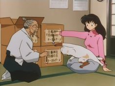 Buyo the cat comes to take the shikon jewel too!? Even cats are bad!!!