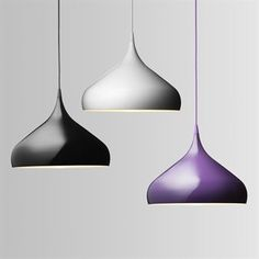 Spinning Light was inspired by the classic spinning top toy. Its stylish and classic shape made of aluminum will suit most homes. Can be combined with the narrow Spinning light. Available in three colors.