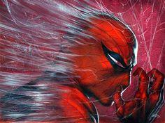 #Spiderman #Fan #Art. (Spider-Man) By: Gabriel Dell'Otto. (THE * 5 * STÅR * ÅWARD * OF: * AW YEAH, IT'S MAJOR ÅWESOMENESS!!!™) ÅÅÅ+