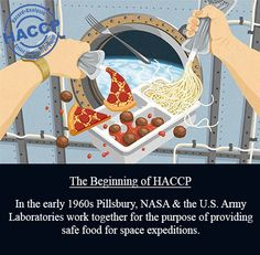 In the early 1960s Pillsbury, NASA & the U.S. Army Laboratories work together for the purpose of providing safe food for space expeditions