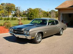 "People who aren't ""Car people"" will never understand how truly sexy this Chevelle is!!!"