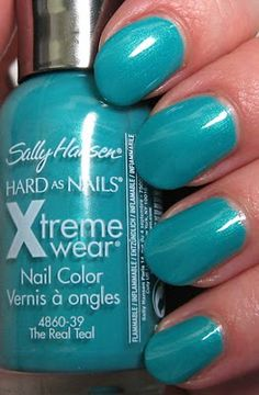 Sally Hansen - Xtreme Wear - The Real Teal