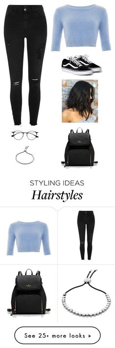 """""""Untitled #3425"""" by twerkinonmaz on Polyvore featuring Collectif, River Island, Ray-Ban and FOSSIL"""