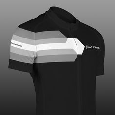 Push FORWARD Black. Short sleeved summer cycling jersey, made from functional materials for a comfortable ride. Designed in Sweden. Push yourself. Push your limits. Push Cycling Apparel.