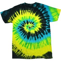 Tie Dye Mania Adult T- Shirt ($8.95) ❤ liked on Polyvore featuring tops, t-shirts, shirts, tees, t shirt, tie dye t shirts, tie dyed t shirts, tee-shirt and tie-dye tops