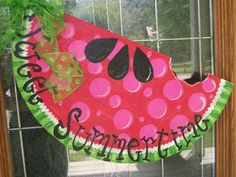 Watermelon wreaths