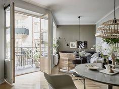 Een Zweeds huis vol groene wooninspiratie - Roomed