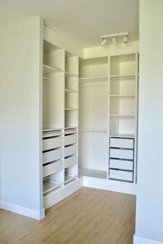- Lilly is Love Closet Ikea, Pax Closet, Dressing Ikea, Kitchen Ikea, Wardrobe Room, Closet Layout, Master Bedroom Closet, Home Room Design, Walk In Closet