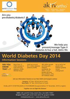 World Diabetes Day.... Assocham Report: 42.5% Delhiites suffer from Diabetic; Women are more prone to diabetes   http://www.myiris.com/news/Most-Popular/42.5-Delhiites-suffer-from-Diabetic-Women-are-more-prone-to-diabetes/20141110134335717